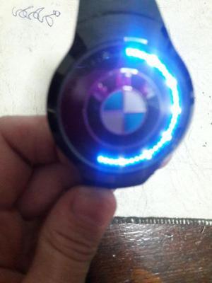 RELOJ BMW LED TOUCH NUEVO. SIN USO.