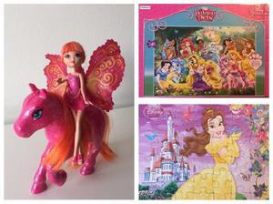Barbie Mini Hada Con Caballo