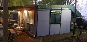 Casa rodante en camping Chascomus.