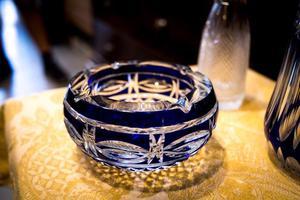 Exquisito Cenicero Cristal Bohemia