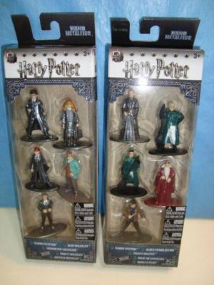 Harry Potter Figuras Muñecos Die Cast Metal Pack X 5 Jada