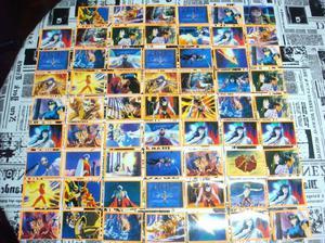 Lote De Figuritas Caballeros Del Zodiaco 3 - 114 Figus 1996