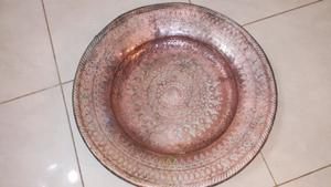 Plato de cobre 58cm De Diámetro