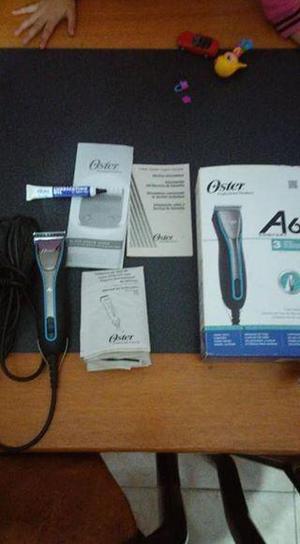 Vendo maquina OSTER A6 profesional para peluquería canina
