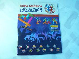 Album de Figuritas Copa América Chile 2015 Panini Completo