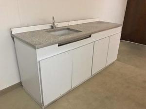 Mesada Granito 1,90 Mts + Mueble Bajo Mesada
