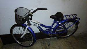 Vendo bicicleta de mujer Rod.24 sin uso