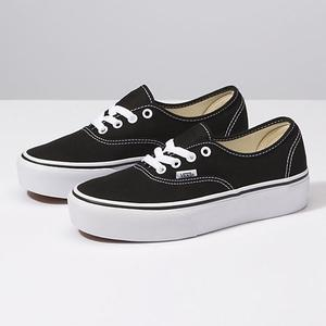 2vans authentic negras mujer