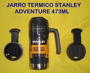 JARRO DE VIAJE STANLEY ADVENTURE DE ACERO INOXIDABLE TERMICO