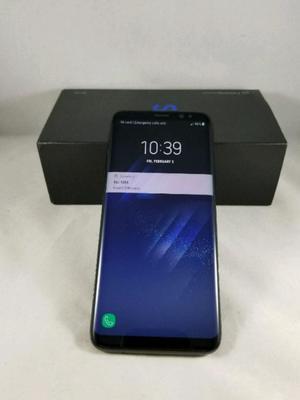 Samsung s8 plus black libre semi nuevo