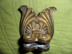 Antigua Parte De Falleba Art Nouveau Bronce
