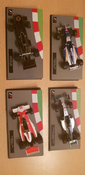 Autos de colección Fórmula 1
