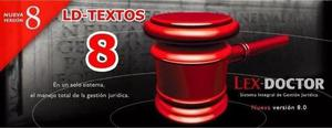 Ld-textos Para Lex Doctor 8 Ultima Actualizacion Al 2005