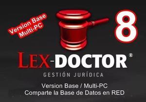 Lex Doctor 8.0 Base -1pc Servidor- Abogados Estudios