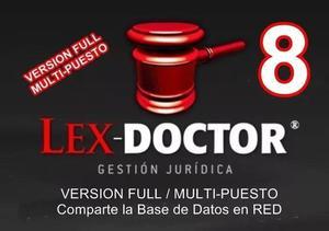Lex Doctor 8.0 Full Pc Servidor Abogados Estudios Juridicos