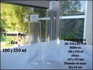 PROMOCIÓN ESPECIAL!! ENVASE PLÁSTICO PVC DE 250 ML CON