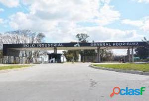Alquiler- Lote Baldio En Polo Industrial Gral Rodriguez!
