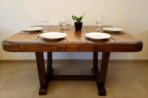 Hoy 3500 mesa madera maciza antigua
