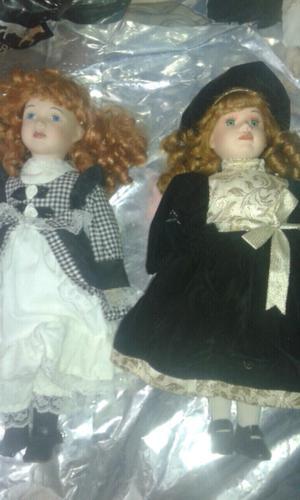 Muñecas de porcelana de coleccion Vendo