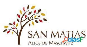OPORTUNIDAD Lote LAGUNA Barrio San Matias A5