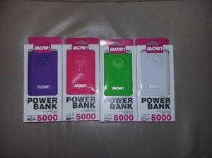 Vendo Cargador Portatil Power Bank Mow