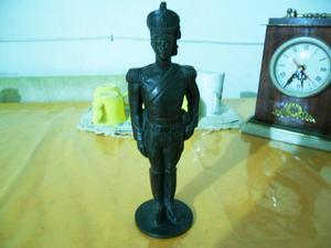 Estatua Granadero muy antiguo de bronce macizo - Excelente