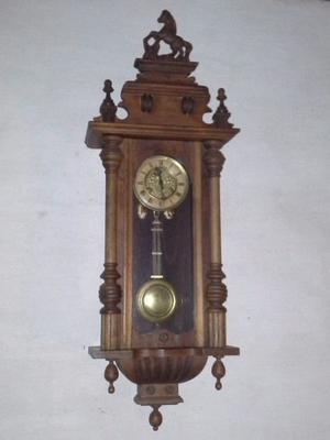 Reloj antiguo de pared junghans a pendulo aleman