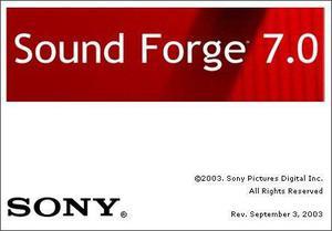 Sound Forge 7 Pro Editor De Audio Profesional CHAVEZ