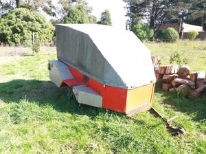 Vendo Trailer para Moto Cross Impecable Estado,