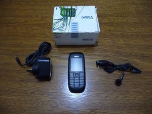 Celular Nokia con muy poco uso con su cargador y audifono