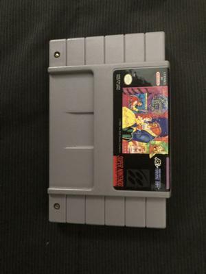 Juego La bella y la Bestia para consola Súper Nintendo