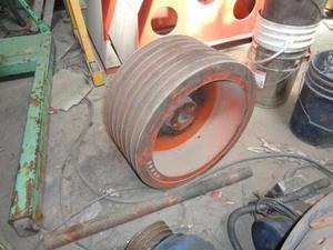 Poleas de fundición de hierro para motores eléctricos