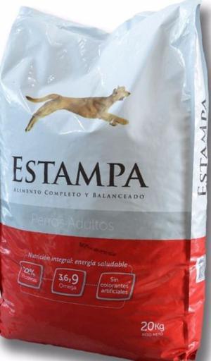 Alimento Perro Adulto ESTAMPA – x 15 kg