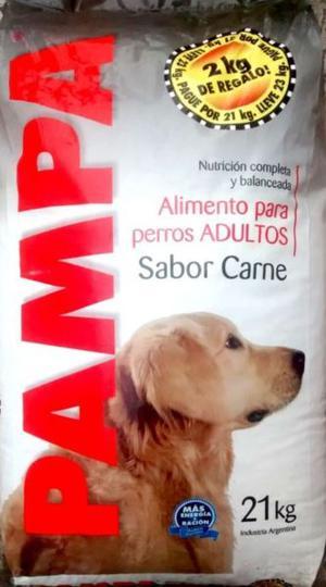 Alimento Perro Adulto PAMPA – x 21 kg