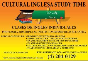 CLASES DE INGLES EN AVELLANEDA A SOLO $500 POR MES