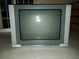 """televisor de 21"""" de tubo pantalla plana"""