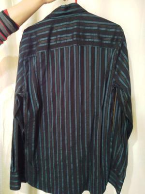 Camisa de seda importada