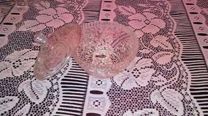Caramelera bombonera de cristal