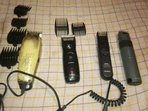 Lote maquinas de cortar pelo y lote de cortinas pelo natural