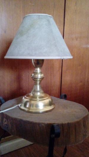 Velador de bronce antiguo