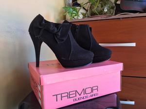 Zapatos tipo Botinetas de gamuza Tremor Buenos Aires