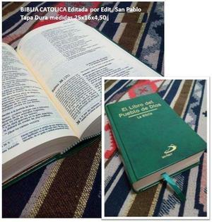 Biblia Católica El libro del pueblo de Dios Nuevo