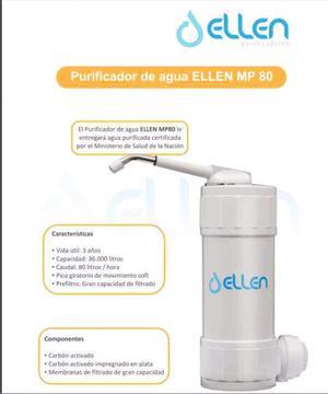Purificador de agua para el hogar