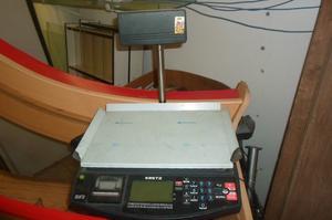 balanza electronica kretz oura con tikeadora
