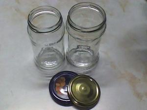 frascos de vidrio 360 CC