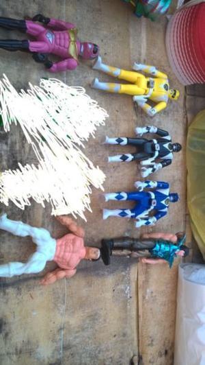 lote de muñecos usados