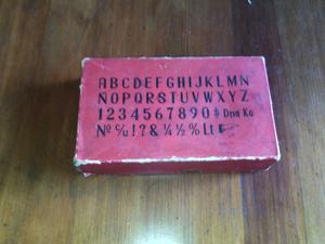 sellos antiguos madera y goma