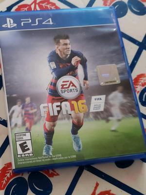 Fifa 16 PS4 original, con un solo uso,impecable. C.A.B.A