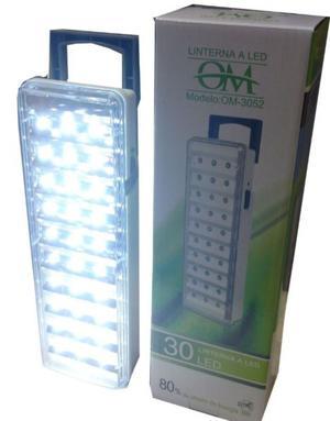 Luces Luz De Emergencia 30 Leds Marca Slt Por 20hs ALTA