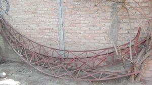 Tirantes de hierro para quincho o techo